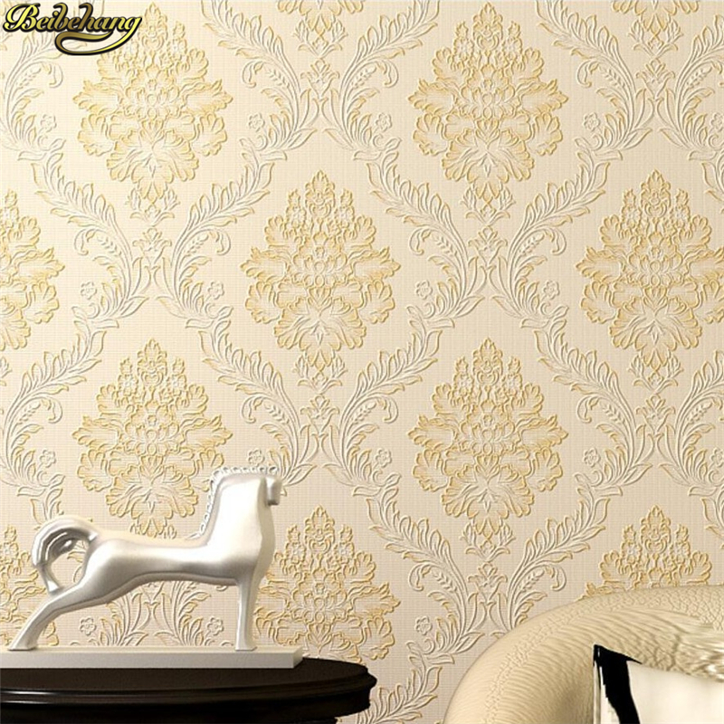 beibehang papel de parede 3D Pastoral Damascus flooring wallpaper for walls 3 d damask living room wall papers home decor roll крис де бург chris de burgh far beyond these castle walls