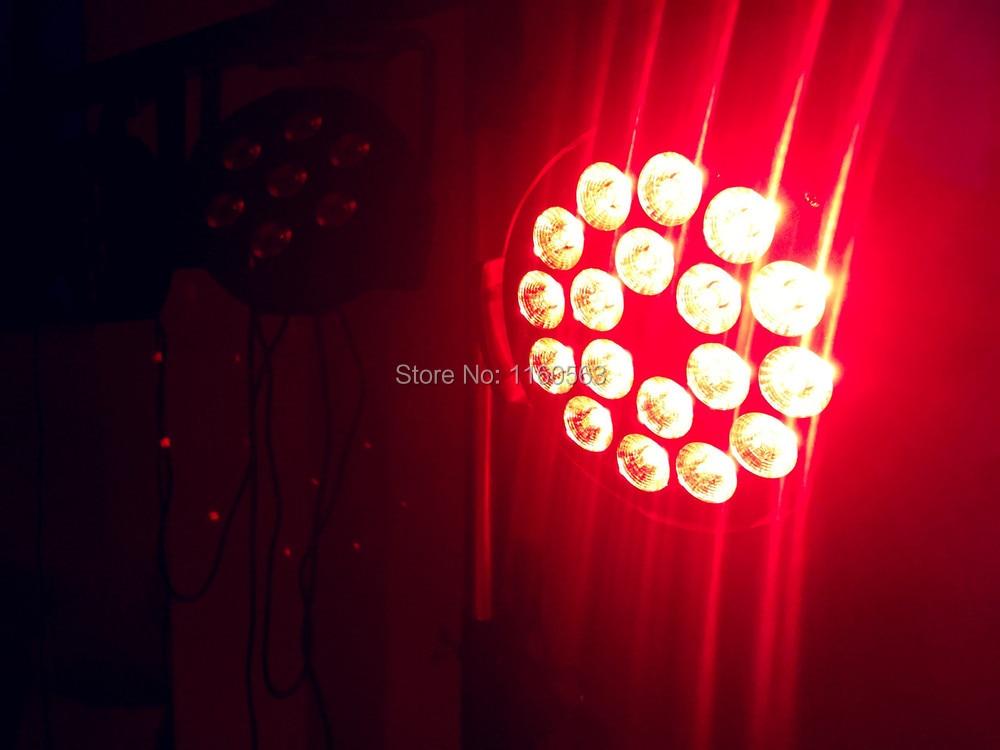 dj lighting 18x18w rgbwa uv 6in1 led par light Aluminum alloy shell globe shaped aluminum shell precise compass