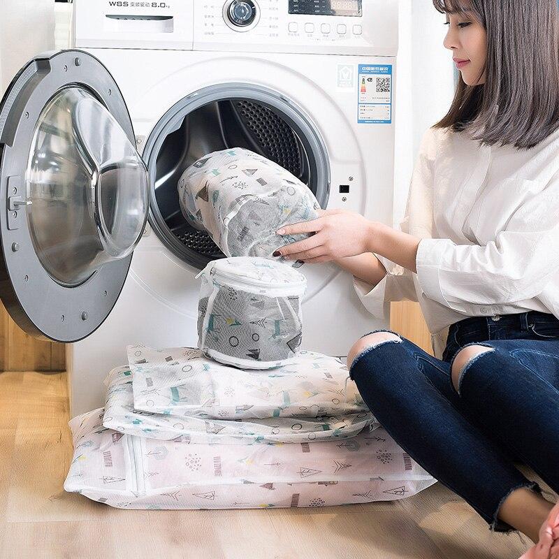 Vanzlife Underwear Washing Bag Laundry Bag Household Machine Mesh Laundary Bag Thick Washing Machine Washing Clothes Mesh Bag