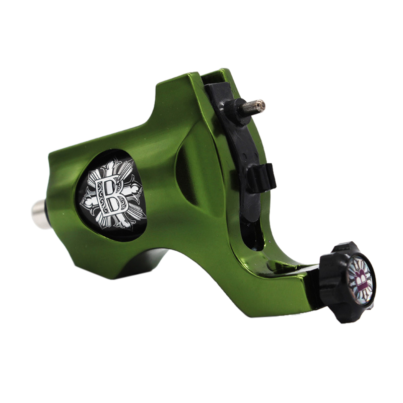 Best Sale Green New Aluminium Alloy Hot Sale Rotary Tattoo Machine Motor Gun Shader Liner best price mgehr1212 2 slot cutter external grooving tool holder turning tool no insert hot sale brand new