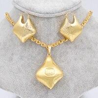 Big Hoop Earrings Pendant Women S Jewelry Sets Copper 18K Gold Plated Heart Basket Fashion Trendy