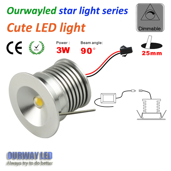 high quality star light series dim 30mm cut hole 25mm easy install 240 Volt Wire Diagram high quality star light series dim 30mm cut hole 25mm easy install fast connect cute led downlight dimmable mini cabinet light in downlights from lights