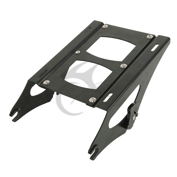 Detachable Two Up Tour Pak Pack luggage Rack For Harley Touring 2014 2016