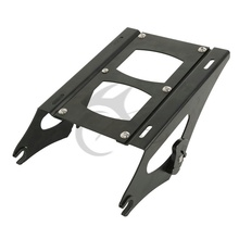 цены New Detachable Two Up Tour Pak Mounting Rack For 2014 Harley Touring Glide FLH