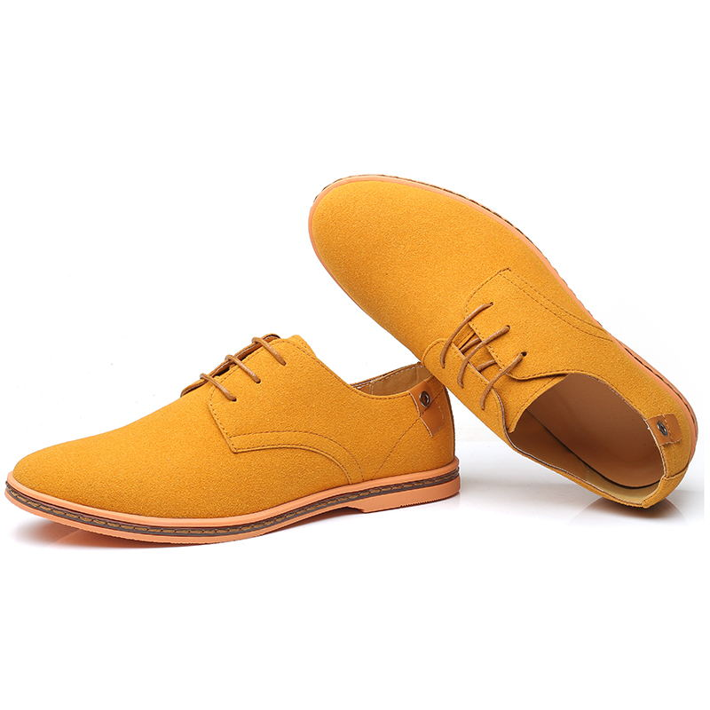 HTB1GXAPXW5s3KVjSZFNq6AD3FXaL VESONAL Brand 2019 Spring Suede Leather Men Shoes Oxford Casual Classic Sneakers For Male Comfortable Footwear Big Size 38-46