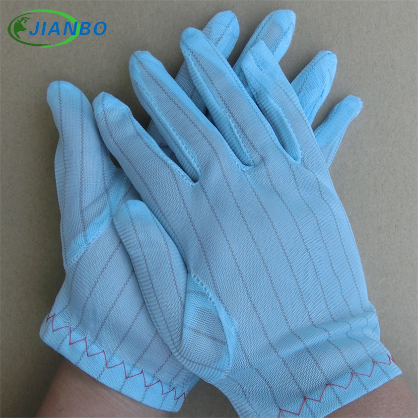 Good Factory Outlet 5pairs/bag Antistatic Glove Computer Esd Safety Universal Work Gloves Electronic Anti Skid For Finger Protection Safety Gloves