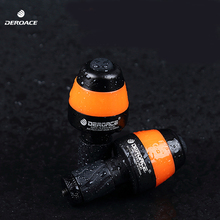 DEROACE Bicycle Light Cycling Riding Mountain Waterproof Bike Cornering lamp Bicycle Front Lamp bike light Bicycle accessories