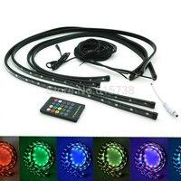 36 24 5050 Smd Undercar Underglow Kit Colorful LED Strip Under Car Tube Strip Light Under