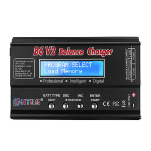 Image 2 - HTRC Balance Charger Imax B6v2 80W 6A LiPo Battery Charger 15V 6A AC For LiIon/LiFe/NiCd/NiMH/High/LiHV RC Charger Discharger