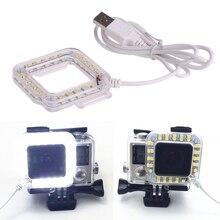 Водонепроницаемый случае Интимные аксессуары для Камера USB Порты и разъёмы LED кольцо вспышка Speedlite