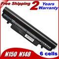 Bateria do portátil para Samsung N150 aa-aa-pb3vc6w pb2vc6w preto e branco