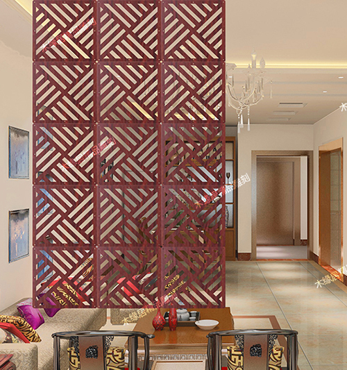 4piece Customizable Hanging Screens Biombo Restaurant Entrance Wall Panels Shield For Rooms Modern Room