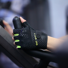 DAY WOLF Gloves Training Fitness Weightlifting Riding Genuine Leather Palm Handguards Strong Grip Breathable Comfort Fit