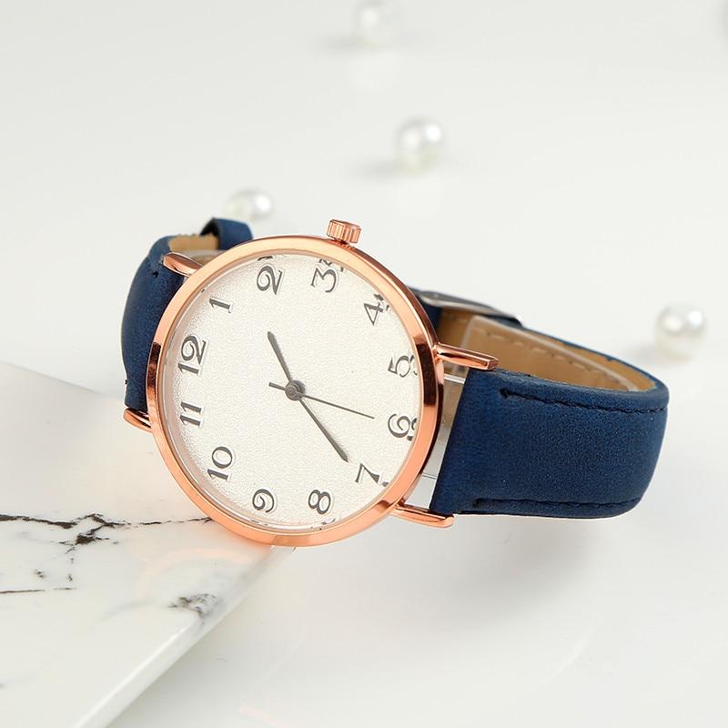 Analog Quartz Women Watch Watches Denim Simple Leather Strap Men's Casual WristWatch Relogio Feminino Minimalist Watch