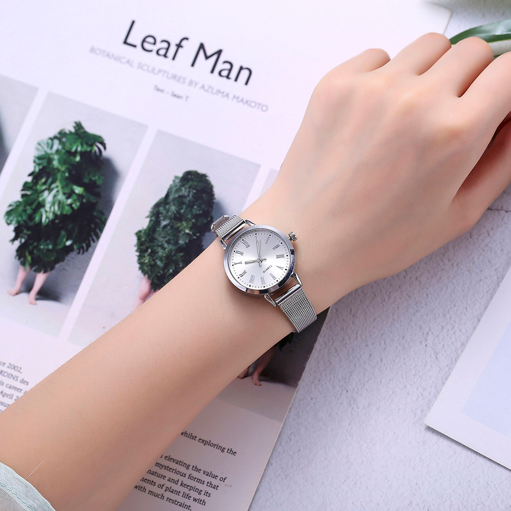 top-brandminimalist-watch-women-elegant-fashion-lady-stainless-steel-quartz-montre-femme-women-watches-dropshipping-ff