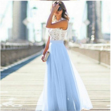 Dress Women Summer Patchwork Womens Formal Elegant Long Plus Size Lace/chiffon/maxi Woman