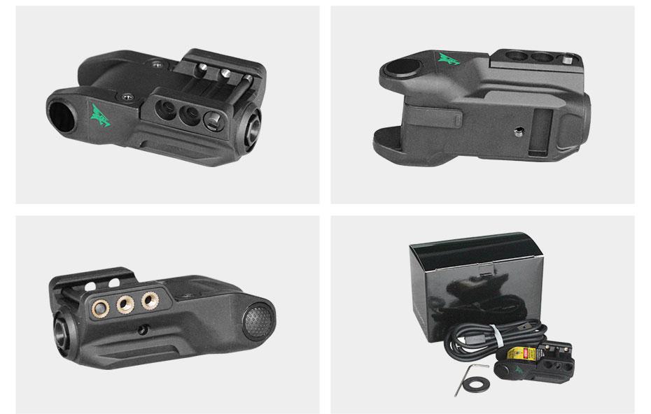 L9-GT glock verde mira laser inteligente digital