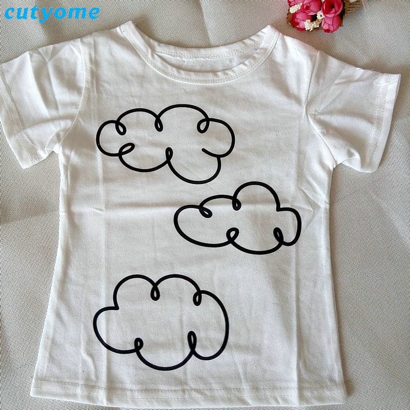 dd098312be9 Cutyome Baby Boys Clothes For Newborn 2017 Newest Infant Girls Clothes Sets(cloud  T Shirts+raindrop Pants) Kids Clothing Suits -in Clothing Sets from Mother  ...