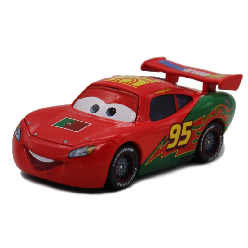 Disney 100% Original Pixar Cars Diecast NO.95 Red Portugal
