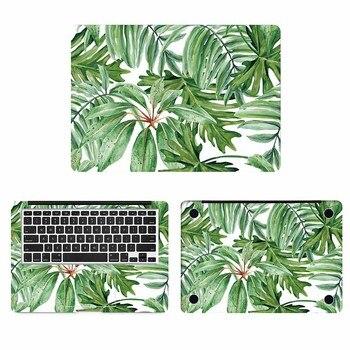 Зеленые листья живопись ноутбук кожи Стикеры для Macbook Наклейка Pro Air retina 11 12 13 15 дюймов hp Mac Book полное покрытие ноутбук кожи