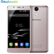 Blackview P2 5.5'' Android 6.0 4G Smartphone MTK6750 Octa Core 1.5GHz 4GB 64GB Fingerprint Scanner 8.0MP+13.0MP 6000mAh Type-C(China)