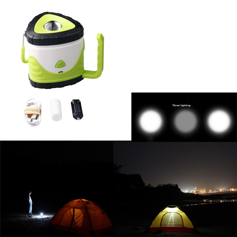 Sky Wolf Eye Multifunction LED Rechargeable Camping Outdoor Hiking Lantern Cycling Light Tent USB Lamp 5800 MA 3 hours M20 cob led work light usb rechargeable camping light outdoor portable tent light emergency light maintenance light working lamp red