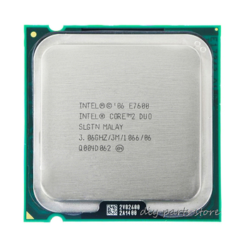 INTEL Core 2 Duo E7600 Socket LGA 775 CPU Processor (3.0Ghz/ 3M /1066GHz) 1