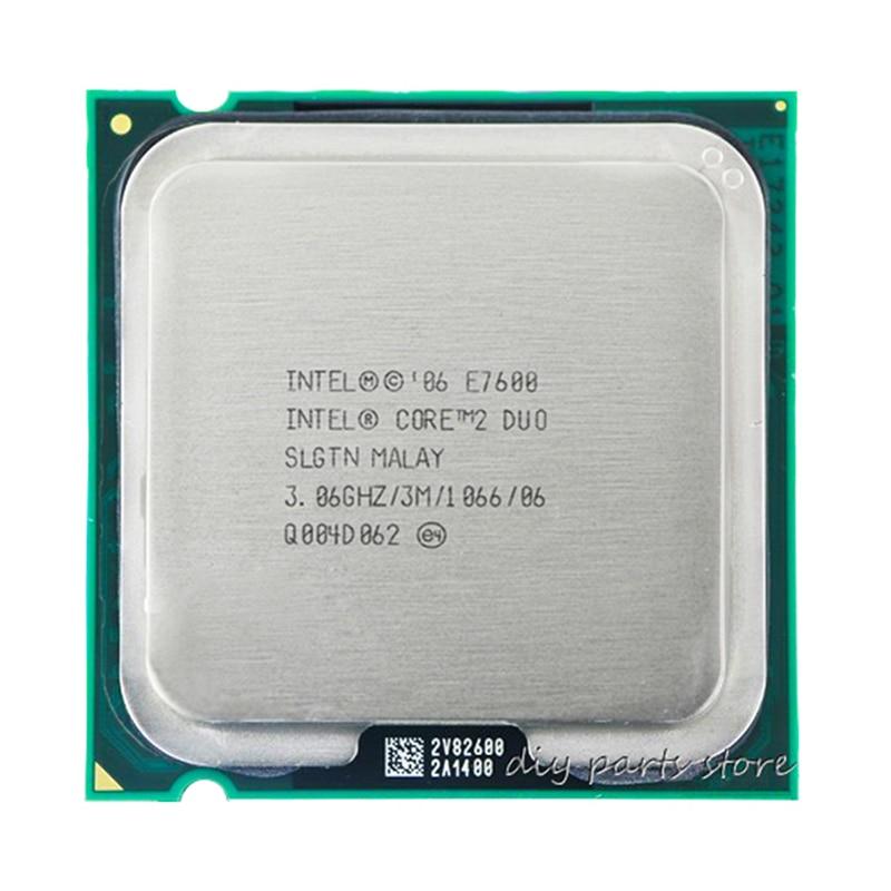 INTEL Core 2 Duo E7600 Socket LGA 775 CPU Processeur (3.0 Ghz/3 M/1066 GHz)