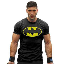 New Summer Men font b Fitness b font T Shirt Cool Male Man Gym Sport Muscle