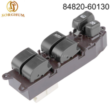84820-60130 8482060130 Electric Power Window Switch For Toyota Land Cruiser 100