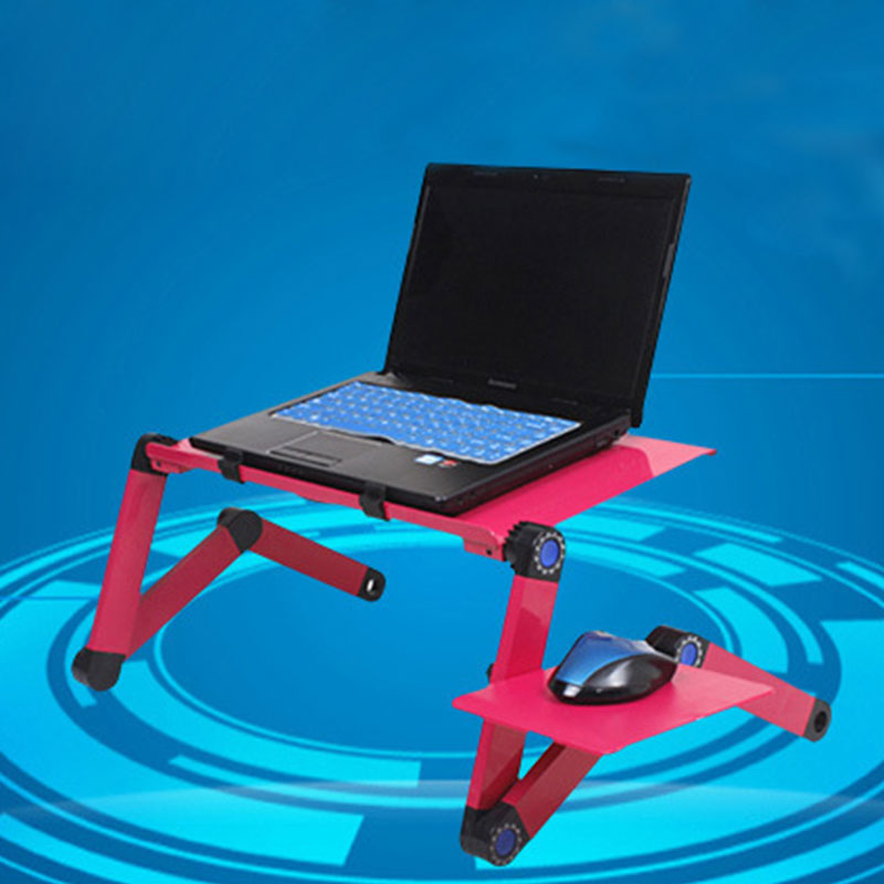 Computer Desk Laptop Table Bed Stylish Stand Portable Adjustable ...