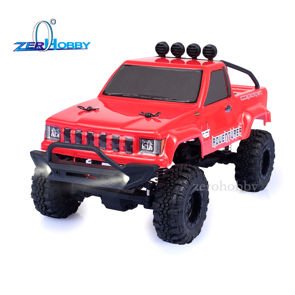 RGT HSP RC Car 136240 1/24 Scale 4wd Off Road Rc Crawlers 4x4 Lipo mini Monster Truck RTR Rock Crawler With Lights kulak 4x4 1 18th rtr electric powered off road crawler 94680