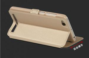 Image 4 - Xiaomi Redmi 5 Plus Case window Flip Cover Shockpoof xiaomi redmi 5 Plus Case Luxury Original size transparent for smart Phone