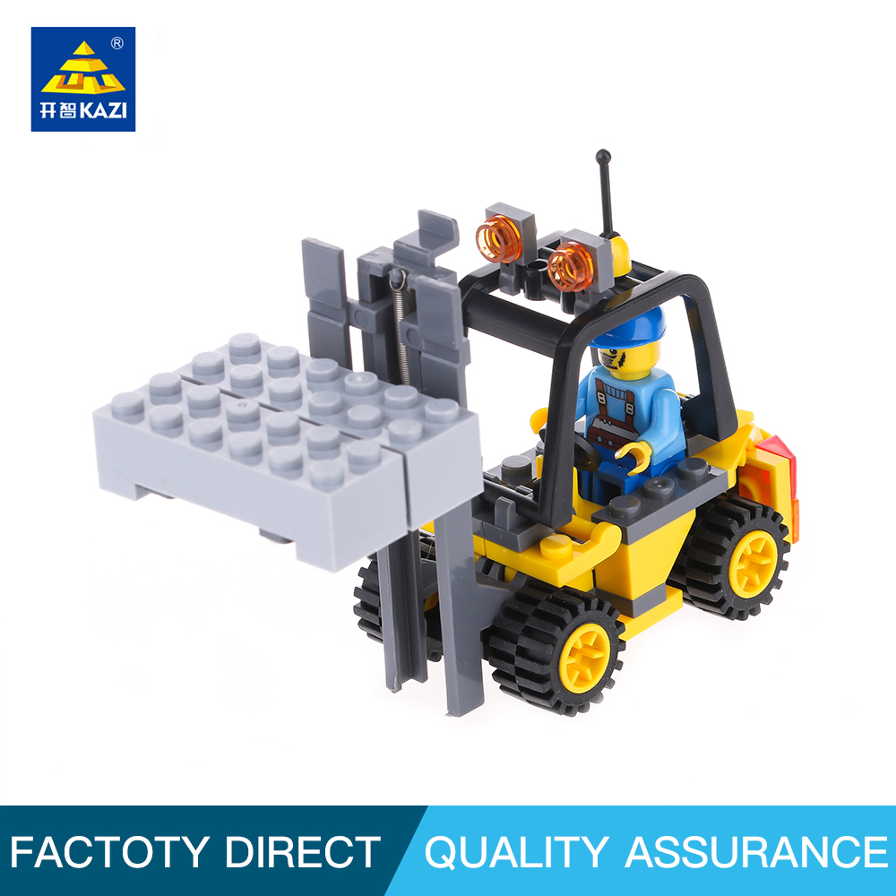 Kazi 8041 City Forklift Blocks 70pcs Bricks Building Blocks Sets Education Toys For Children ...
