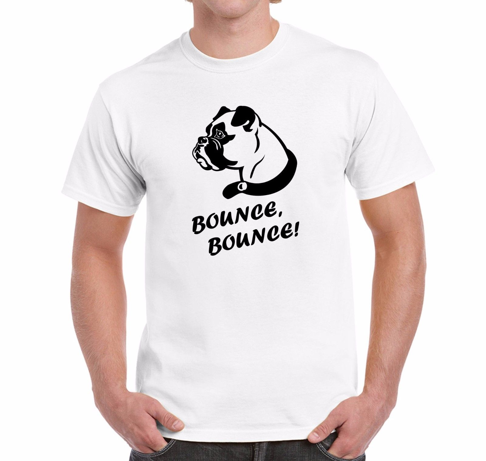 Design your own t-shirt for dogs - T Shirt Ideas Men S Short Sleeve Zomer O Neck Buster The Boxer Dog Bounce Bounce Small To 3xl T Shirts