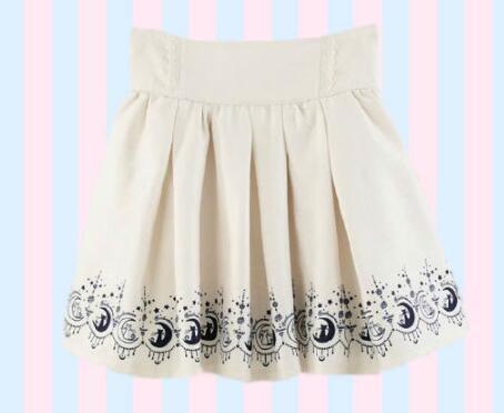 7c6a32ca2 € 15.43 |2017 verano Linda niñas faldas Anime Sailor Moon 20th aniversario  falda gato Lolita Kawaii dulce faldas mujeres ropa de estilo Preppy en ...