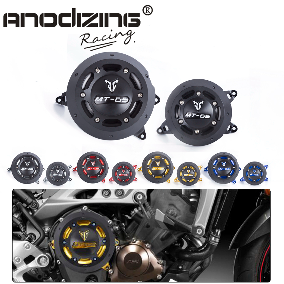 For YAMAHA MT-09 MT 09 MT09 tracer 2014-2017 NEW Engine Guard Protector Engine Guard Case Slider Cover Protector Set sep motorcycle accessories carbon fiber engine sprocket chain case cover clutch cover for yamaha mt09 fz09 tracer fj09 2014 2017
