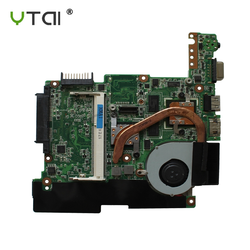 YTAI for ASUS EeePC 1015PN Mainboard REV1 2G DDR3 with N570 cpu and heatsink motherboard