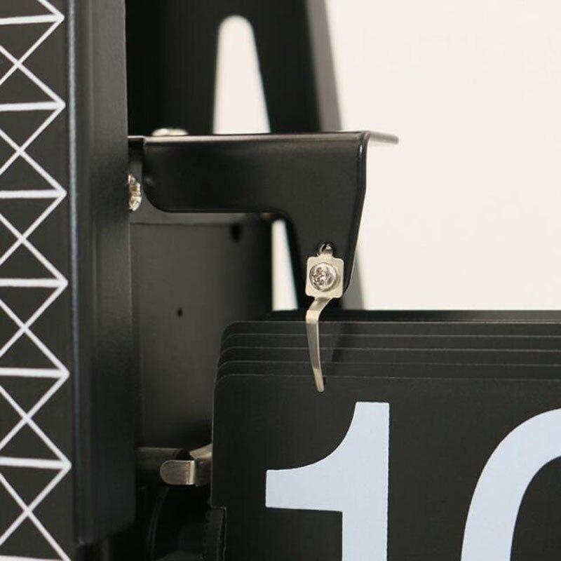 1 set 2018 nouvelle mode créative Design tour grande taille horloge de bureau pour Art maison ou bureau bureau décoration horloge de Table - 5