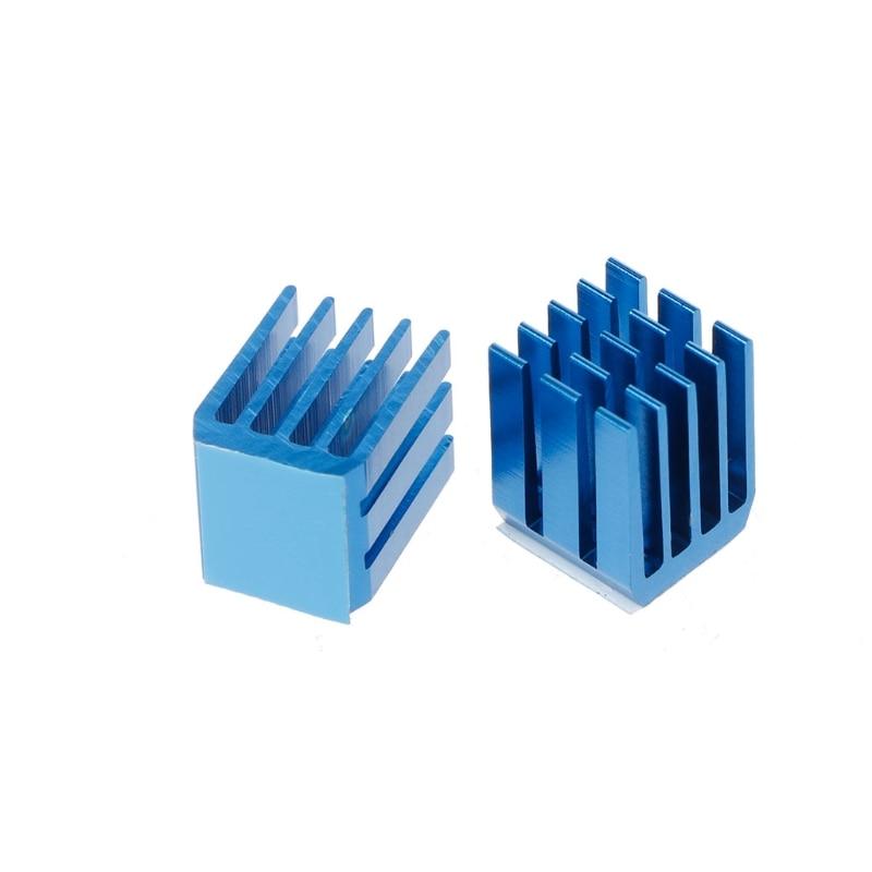 10Pcs Stepper Motor Drive Special Cooling Heat Sink For TMC2100 3D Printer Parts