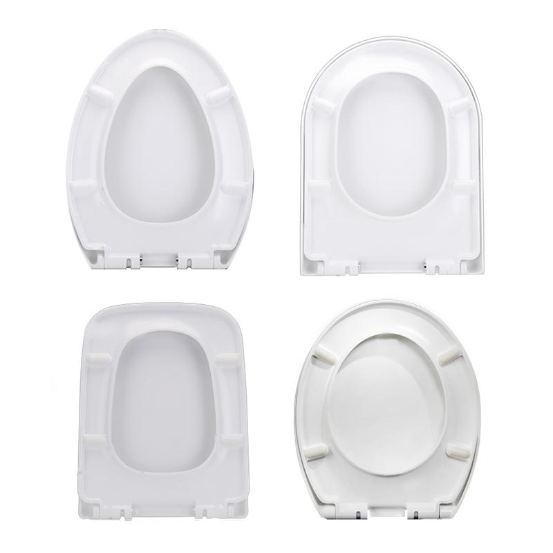 Thickened Toilet Seat Universal Old-Fashioned Large V-Shaped U-Shaped Square O-shaped Seat Cover Descending Toilet Seat Cover