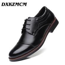 DXKZMCM Men Formal Shoes Men Pointed Toe Casual Men Oxfords Wedding Party Liesure Dress Shoes