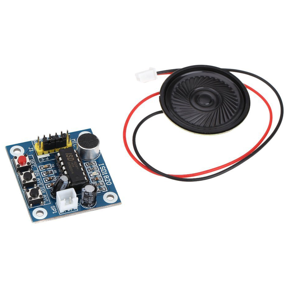 CES-ISD1820 Sound Voice Recording Playback module with micro - sound audio speakers