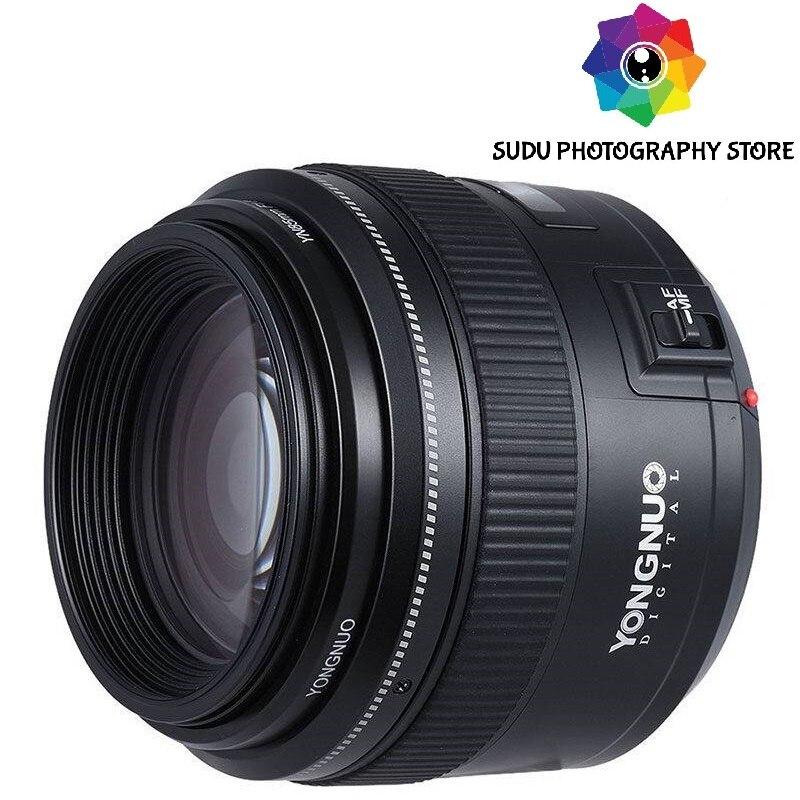 Yongnuo 85 MM YN85MM F1.8 AF/MF Standard Moyen Premier Objectif Fixe pour Canon