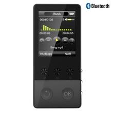 2017 Hi-Fi Bluetooth MP3-плеер 1.8 дюймов TFT Экран плеер с голосом Регистраторы, шагомер, видео, fm Радио аудио плеер