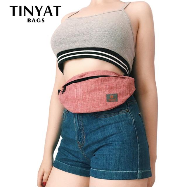 TINYAT Casual Waist Bag  3