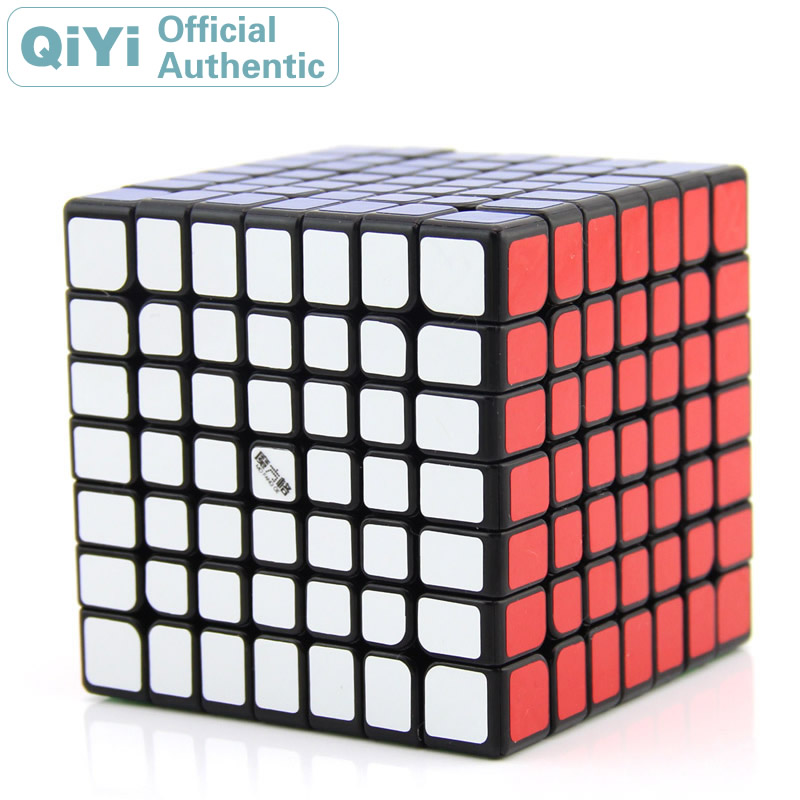 QiYi Wuji 7x7x7 Cube magique MoFangGe XMD 7x7 Cubo Magico professionnel vitesse néo Cube Puzzle Kostka Antistress Fidget jouets garçon