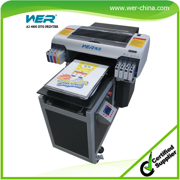 458da1081 textile printer price A2 size for direct to dark and light garment t-shirt  printing