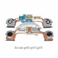 PAAD06015SL For Msi Ge62 Ge72 Heatsink With Cooling Fan Radiator