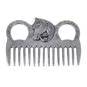 Currycomb-Accessory-Equipment Horse-Care Polished-Horse Comb-Tool Products Grooming